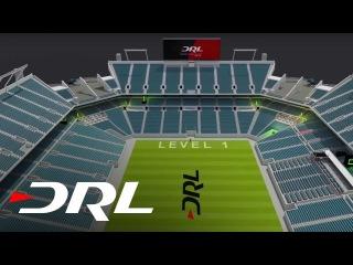 1й этап, превью трассы в Маями | Drone Racing League