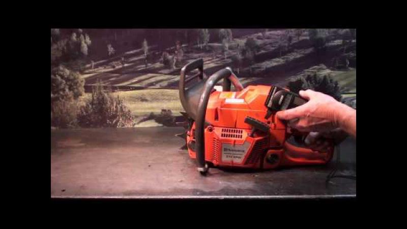 The chainsaw guy shop talk Husqvarna 372 XPW test saw port and deck