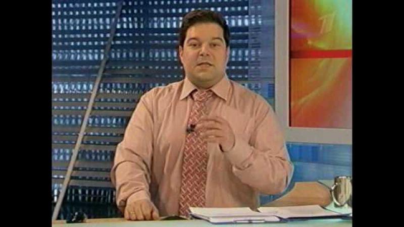 Сюжет о радиолюбителях на Первом канале (ОРТ)