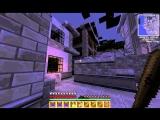 Майнкрафт прохождение карты Зомби Апокалипсис часть 1.