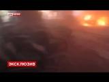 Горловка.14 июня,2014. LifeNews публикует первые минуты видео нападения на УВД .