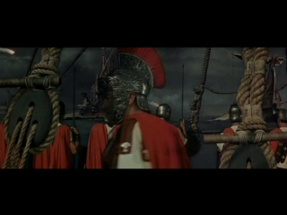 Сражение между римским флотом и пиратами (Бен Гур (1959)
