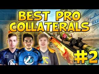 CS-GO - BEST PRO COLLATERALS #2! Ft. coldzera, kennyS, JW  More!