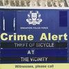 AXTUNG ! Stolen Bicycles ( VELO BANDITEN )