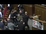 Бійка у Верховній Раді (Відео повна версія)