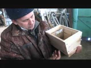 Чувашское пчеловодство !Изготовление мининуклеуса у Деда в цеху !