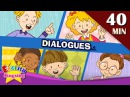 Good morning More Kids Dialogues | Learn English for Kids | Collection of Easy Dialogue