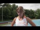 Dafne Schippers op weg naar de Olympische Spelen London 2012