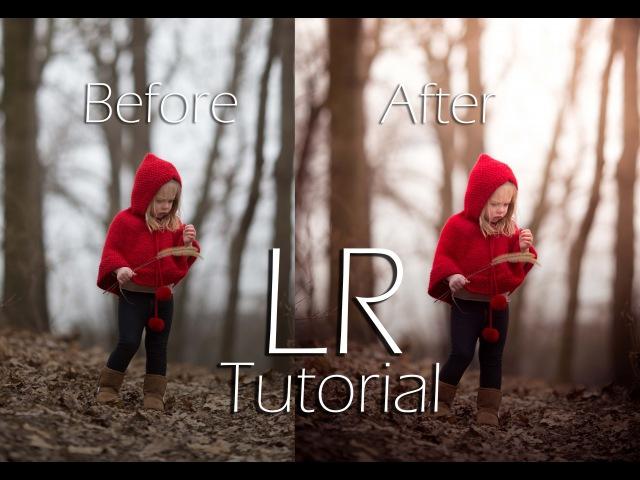 Adobe Lightroom Tutorial Child Portrait Edit Adding Warm tone