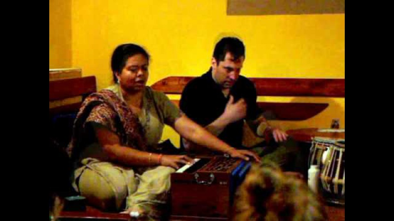 Anandita Basu singing workshop, Olomouc, Czech republic 2014