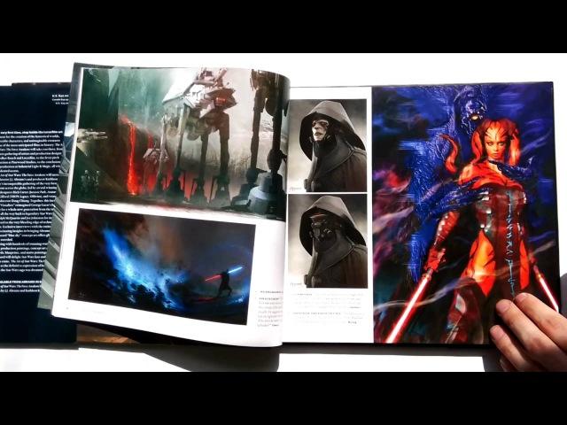 Проект ПОлистаем Артбук Звездные войны Эпизод 7