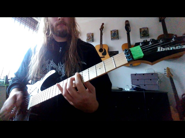 Danny Tunker - Aborted - Coffin Upon Coffin Guitar Playthrough