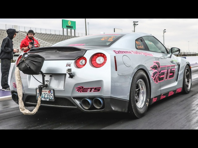 Korch Club| ETS GT-R U.S. RECORD - 7.32 @ 196 MPH!!