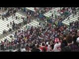 Россия - Англия ничья 1:1 Российские болельщики атаковали сектор сборной Англии после матча