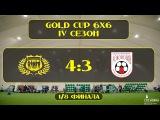 OLE GOLD CUP 6х6 4 сезон. 1/8 ФИНАЛА. САНТЬЯГО ДЕ КУБА - ЛОКОМОТИВ 1986