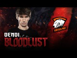 BLOODLUST: Dendi on Juggernaut vs VP  ESL One Frankfurt 2016
