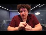 Евгений Кулик даёт интервью на презентации сериала