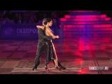 Dmitry Vasin - Esmer Omerova, Showcase, Argentine tango