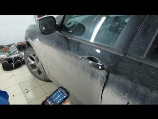 BMW X3 2013 - PANDORA DXL 3910, GPS-приемник PANDORA NAV-035 и радио реле RR-100.
