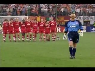 Финал ЛЧ 2000-2001 Бавария - Валенсия 1-1 (5-4)