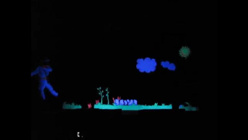 Teatro negro - Parábola del sembrador - Grupo Jaris CBT- TRUJILLO-PERU