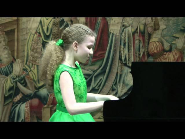 Varvara Kutuzova 12yo Музей Пушкина