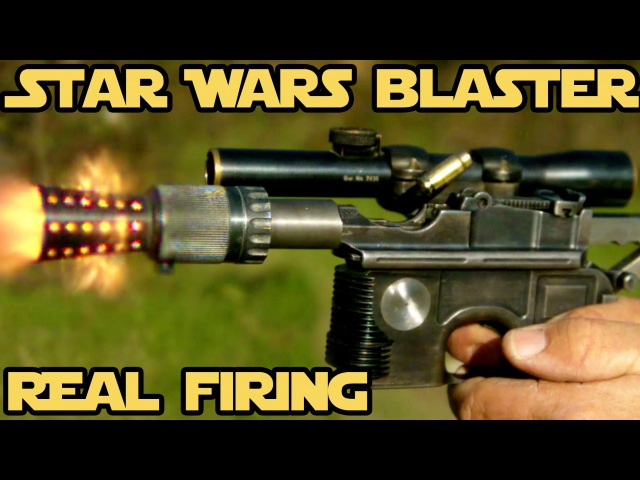 REAL FIRING STAR WARS BLASTER! WORLD RECORD 6 shots in 0.8 seconds with Han Solo's DL-44! » Freewka.com - Смотреть онлайн в хорощем качестве