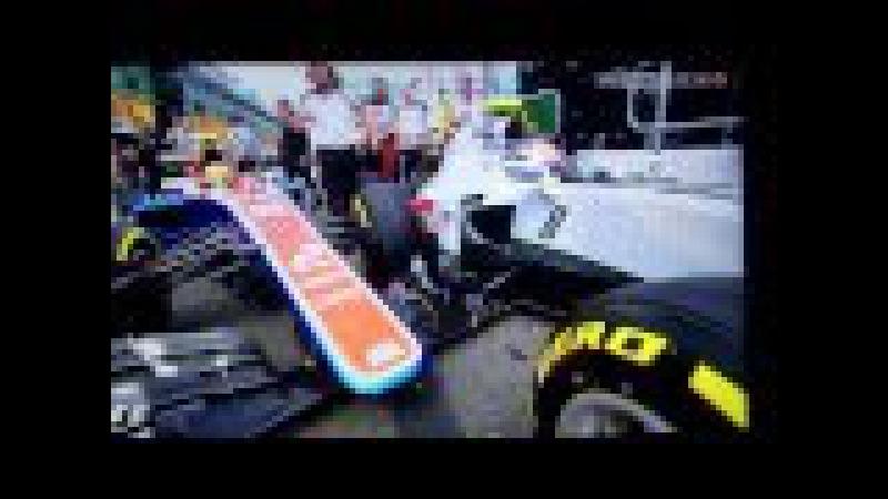 F1 2016 FP3 Pitlane Crash !! Haryanto Grosjean