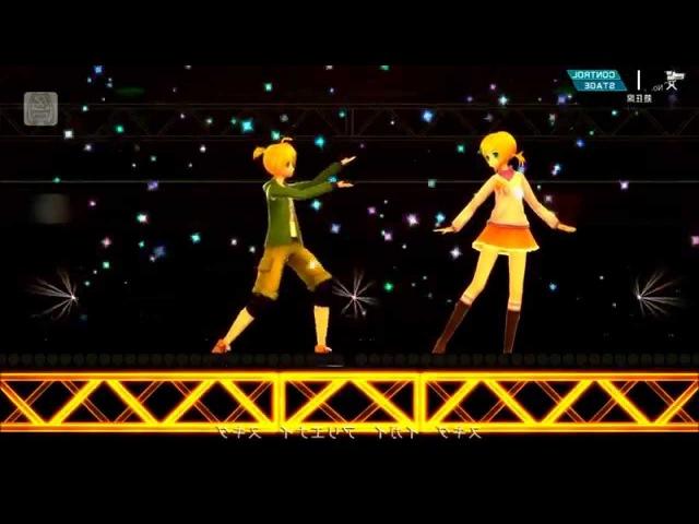 Suki Kirai Mirror Dance - 【鏡音リン37857;音レン】スキキライ(Live Edition)【Project DIVA F 2nd】ライブスタジオ
