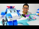 Arabalar - Polis Arabası Robocar Poli ve Ambulans Amber Türkçe izle. Çocuklar için video
