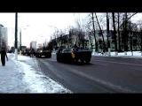 Парад БТРов по ул. Правды, 23 февраля 2016, Витебск