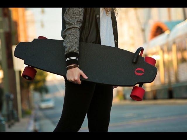 The Monolith скейтборд с электродвигателем