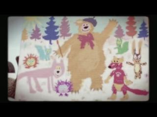 Маша и Медведь, песенка про краски, серия 27, Masha and the Bear