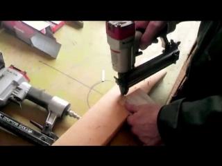 Пистолет в столярке гвоздезабивной