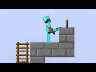 Майнкрафт - Minecraft обзор игры для детей про Бумажный Майнкрафт 2