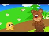 Колобок. Музыкальный мультфильм для самых маленьких с хорошим концом.