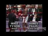 Mike Tyson - James Tillis Exhibition 1987 - RARE