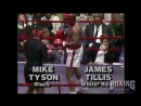 Mike Tyson - James Tillis Exhibition 1987 - RARE