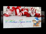 Прикольное поздравление с Новым Годом 2016 Год Обезьяны