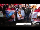 Опубликовано видео нападения с яйцами на машину Касьянова