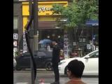 """Videos FanCam- [10.07.16] LeeJongSuk @ """"W-Two Worlds"""" Filming Set 6)"""