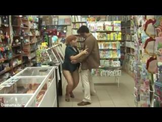 Порно русское рыжей в магазине фото 440-148