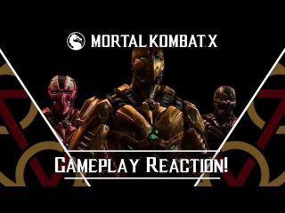 MKX - KP2 Gameplay KM Trailer Reaction! (All Gameplay)