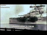 Linienschiff Schleswig Holstein Westerplatte, Danzig 1.September 1939 rare color