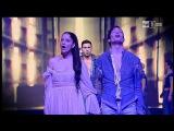 Romeo &amp Giulietta ama e cambia il mondo Cantano Davide Merlini e Giulia Luzi a uno mattina