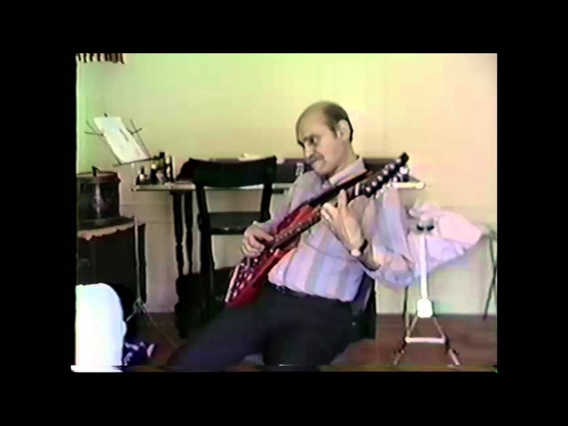 Joe Pass experimenting sound synth GR700