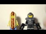 Обзор фигурок LEGO из 14 серии (ходдога и косм.солдата)