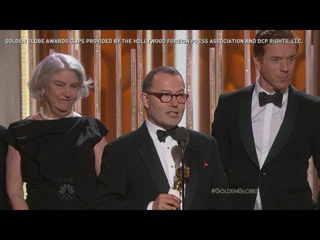 Золотой глобус 2016 Лучший минисериал или телефильм - Волчий зал Golden Globes 2016: British drama 'Wolf Hall' wins award