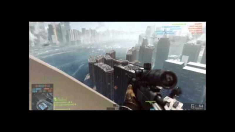 Battlefield 4 -нарезка лучших моментов