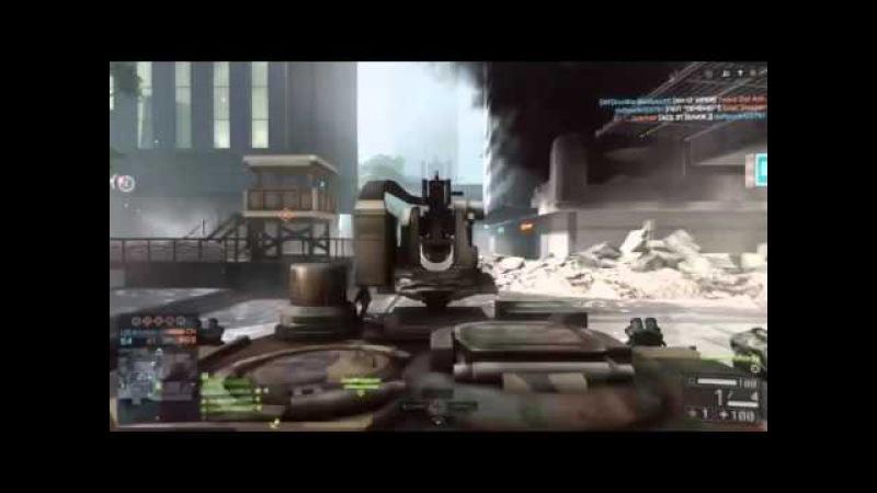 Battlefield 4 - нарезка лучших моментов. Часть 2